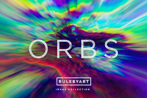Abstract Light Orbs - Collection - RuleByArt