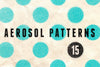 Aerosol Spray Paint Patterns - Collection - RuleByArt