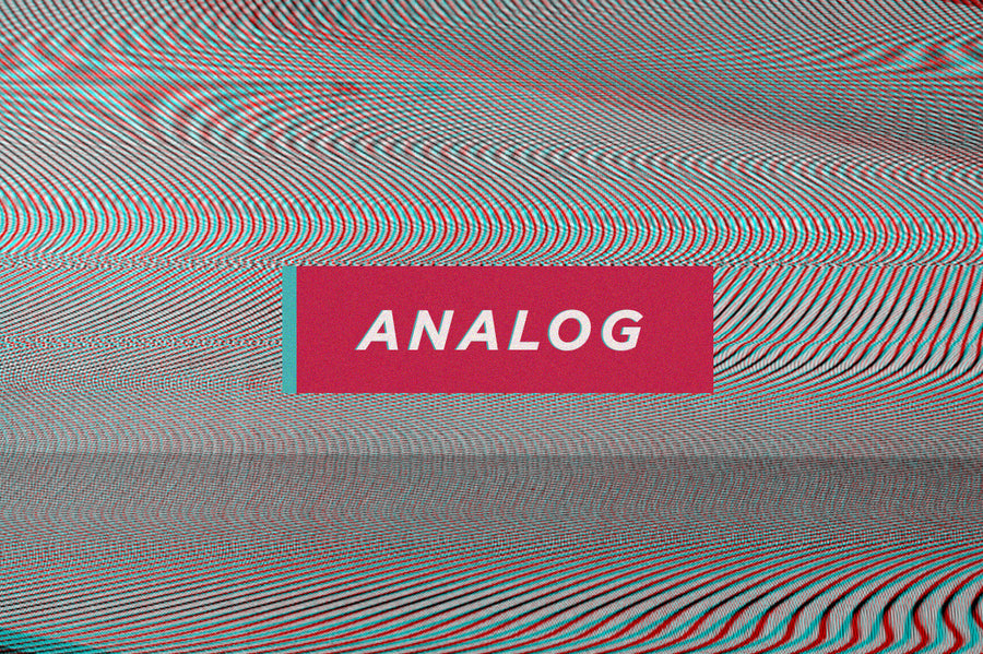 Analog Glitch Distortion Textures - Collection - RuleByArt