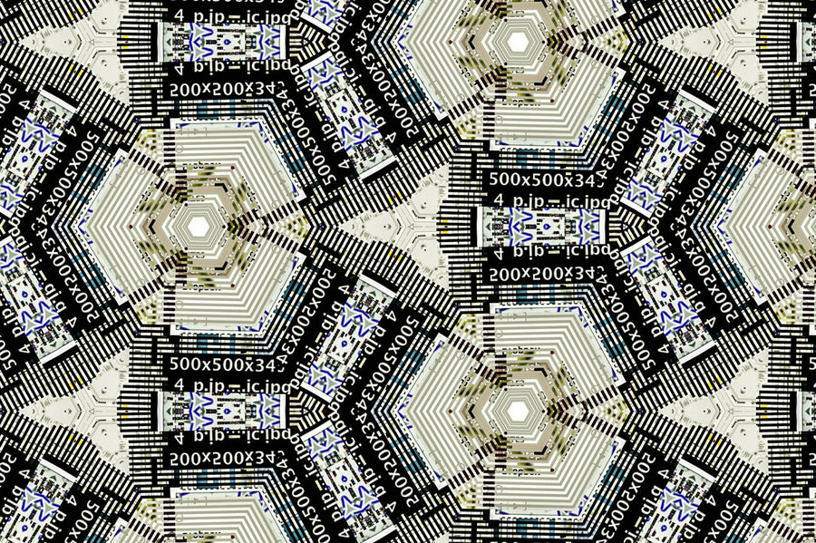 Area 51 Tileable Tech Patterns - Collection - RuleByArt
