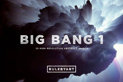 Big Bang Exploding Color Textures 1