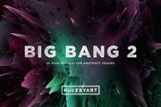 Big Bang Exploding Color Textures 2 - Collection - RuleByArt