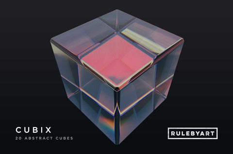 Cubix Cubes - Collection - RuleByArt