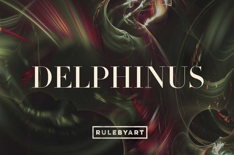 Delphinus Fractal Light Textures - Collection - RuleByArt