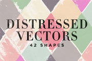 Distressed Vector Shapes - Collection - RuleByArt