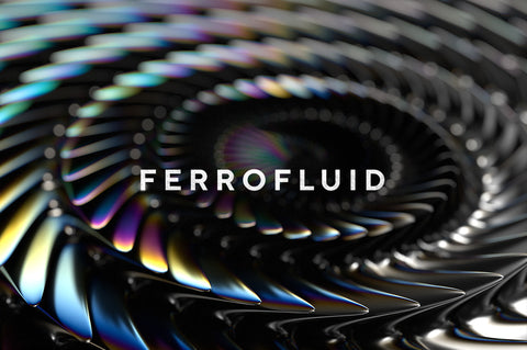 Ferrofluid Abstract Textures