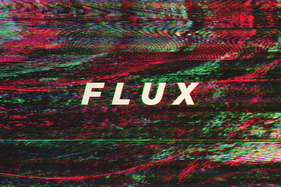 Flux Video Glitch Background Textures - Collection - RuleByArt