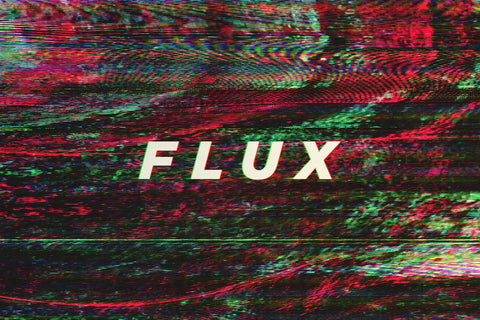 Flux Video Glitch Background Textures