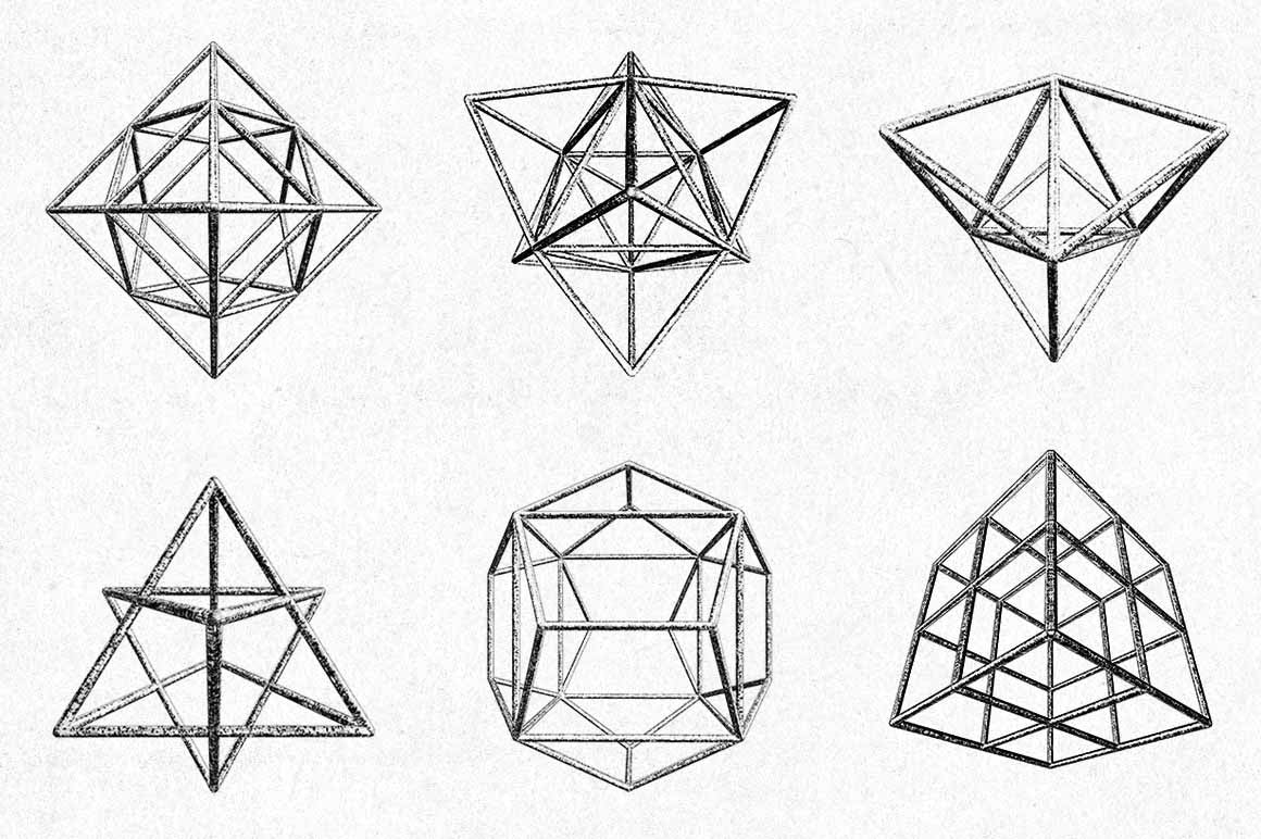 Geometric Polygons Shapes