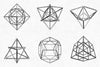 Geometric Polygons Shapes - Collection - RuleByArt