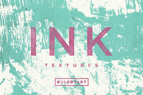 Ink Vector Textures - Collection - RuleByArt