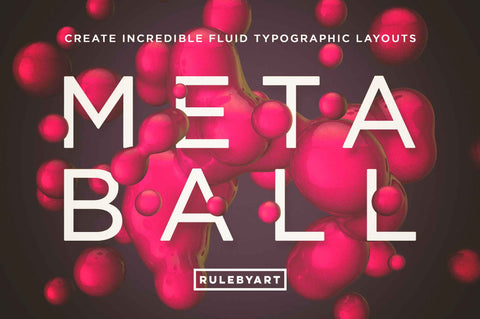 Metaball Photoshop Templates