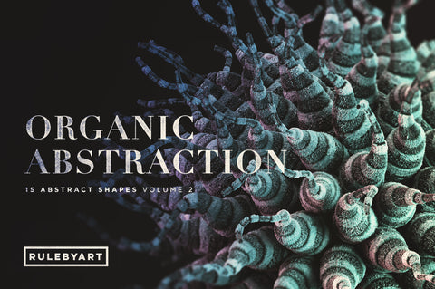 Organic Abstraction Vol2 - Collection - RuleByArt
