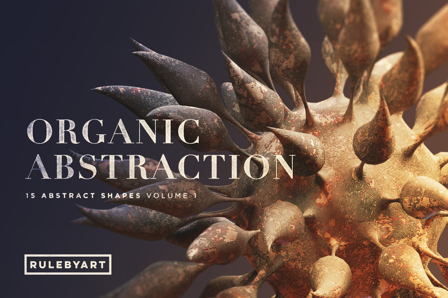 Organic Abstraction Vol1 - Collection - RuleByArt
