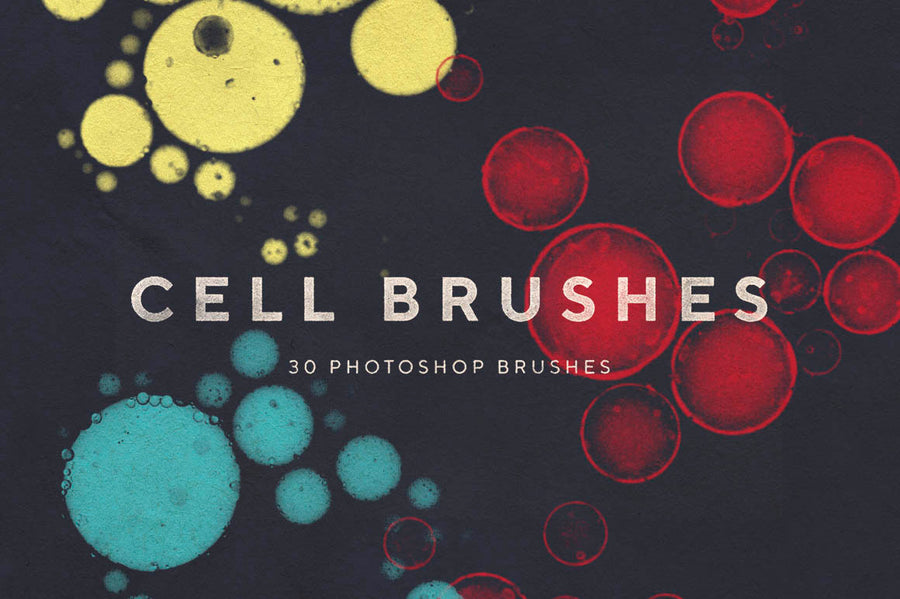 Cell Photoshop Brushes - Collection - RuleByArt