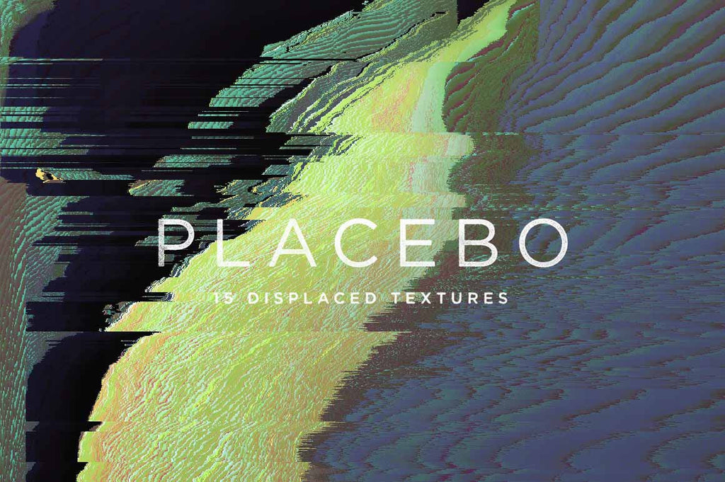 Placebo Glitch Abstract