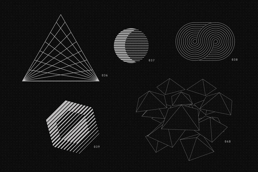 200 Vector Shapes