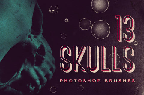 Skull Brushes - Collection - RuleByArt