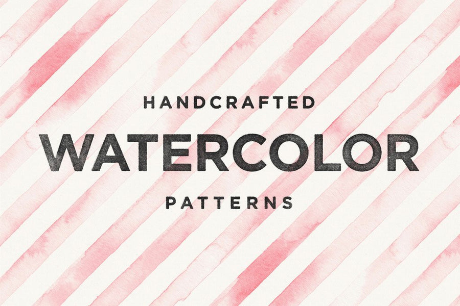 Seamless Watercolor Patterns - Collection - RuleByArt