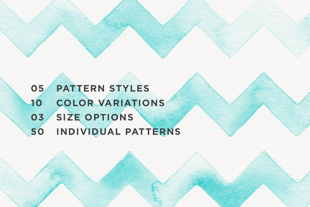 Seamless Watercolor Patterns