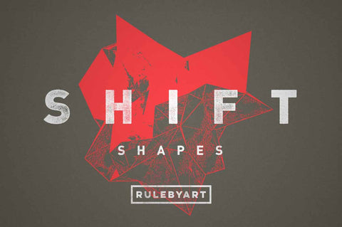 Shift Abstract Vector Shapes - Collection - RuleByArt