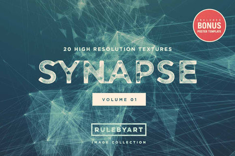 Synapse Network Background Textures - Collection - RuleByArt