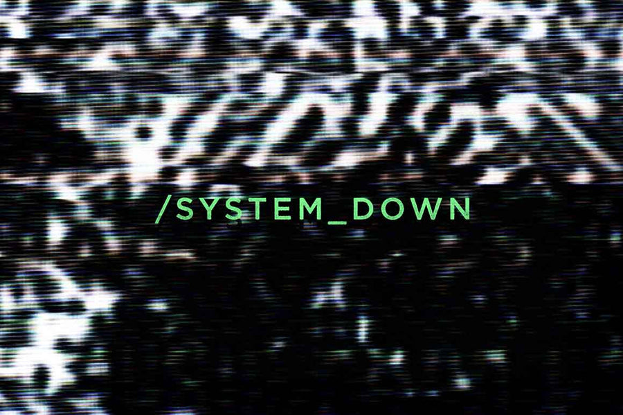 System Down Distortion Glitch Textures - Collection - RuleByArt