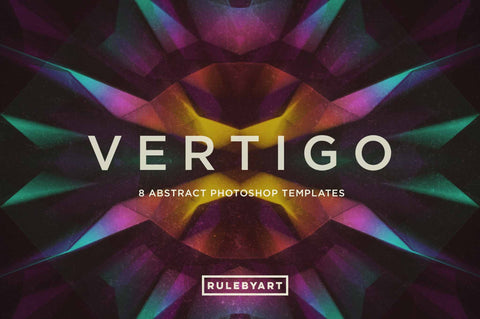 Vertigo Photoshop Templates