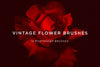 Vintage Flower Photoshop Brushes - Collection - RuleByArt