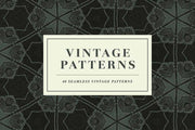 Vintage Seamless Patterns - Collection - RuleByArt