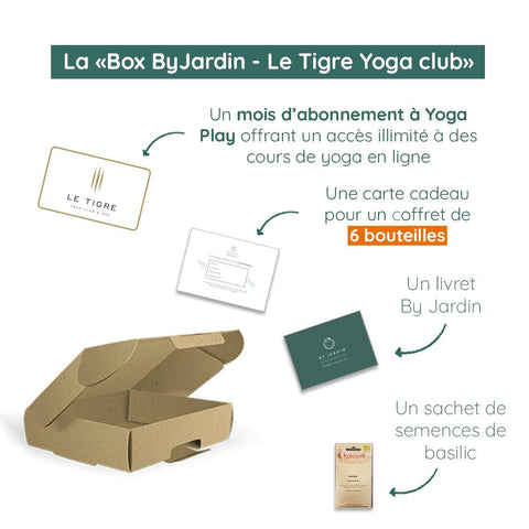 Box ByJardin - Le Tigre Yoga Club