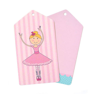 Ballerina Tag - Pack of 12