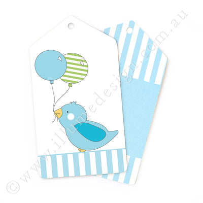 Blue Bird Tag - Pack of 12