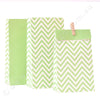 Chevron Green - Treat Bag - Pack of 12