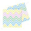 Chevron Pastel Napkin - Pack of  20