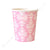 Damask Pink Cup - Pack of 12