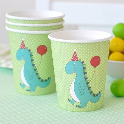 Dinosaur Cup - Pack of 12