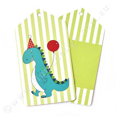 Dinosaur Tag - Pack of 12