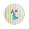 Dinosaur Dessert Plate - Pack of 12