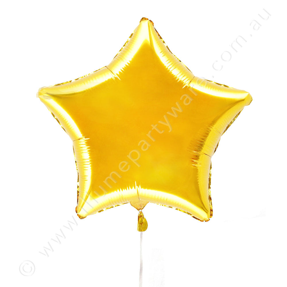 "金19"" Foil  Star Balloon"