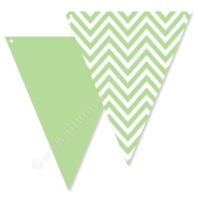 Chevron Green Bunting