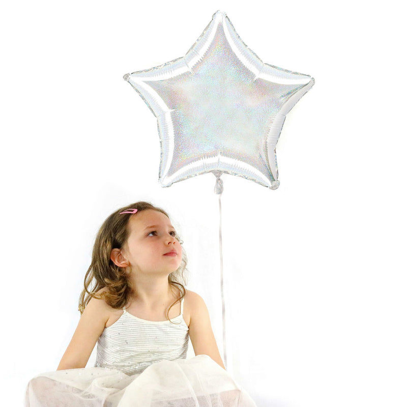"Holographic 19""Foil Star Balloon"