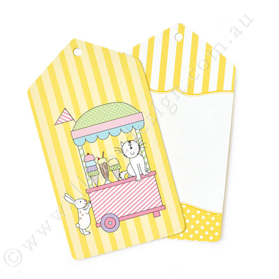 Ice Cream Parlour Tag - Pack of 12