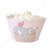 Noahs Ark Pink Cupcake Wrapper - Pack of 12