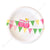 Owl Pink Dessert Plate - Pack of 12
