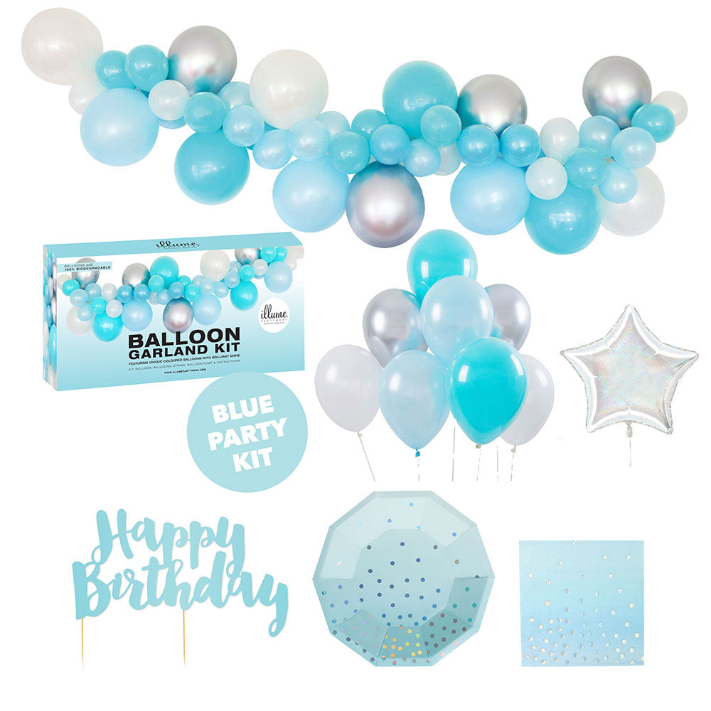 Blue Party Kit Med