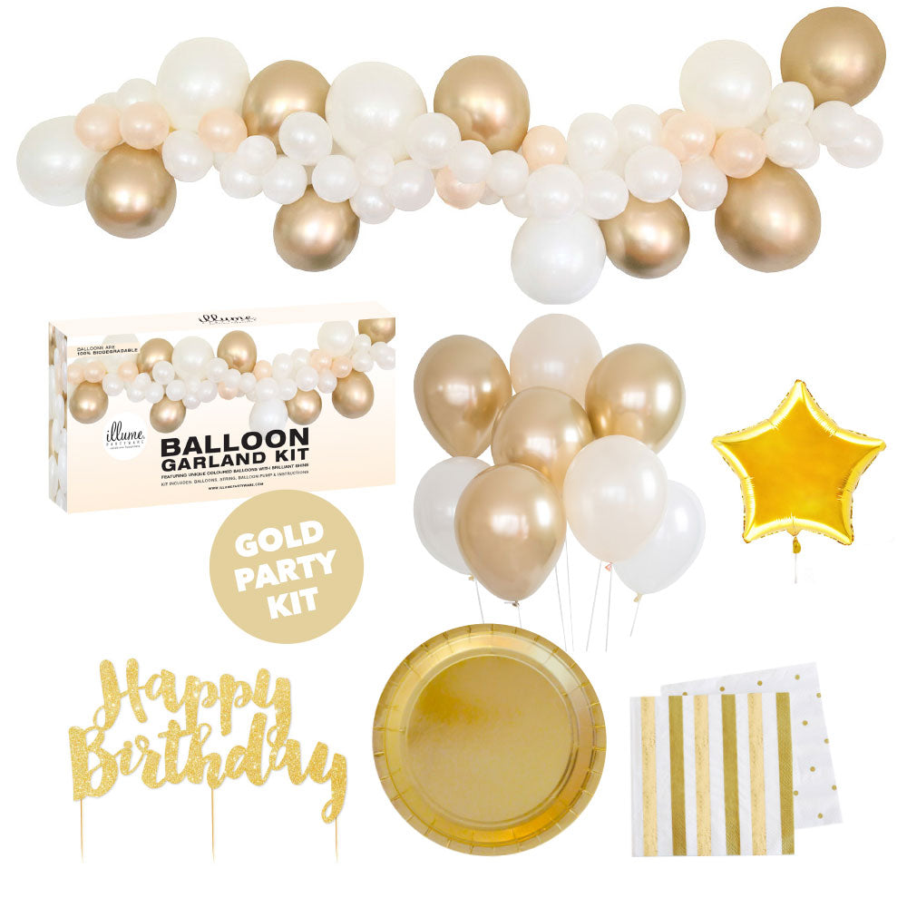 Gold Party Kit Med