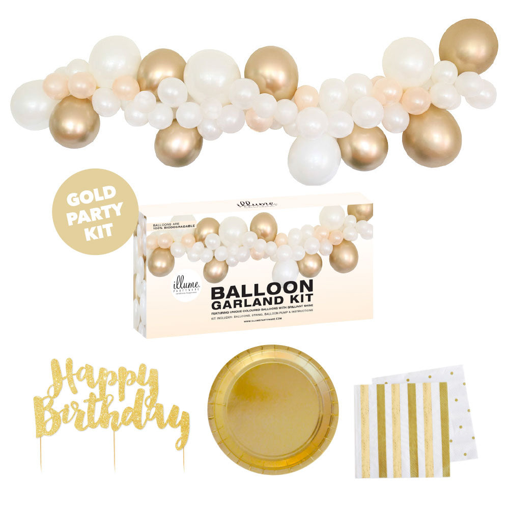 Gold Party Kit Mini