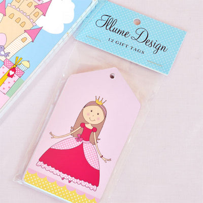 Princess Tag - Pack of 12