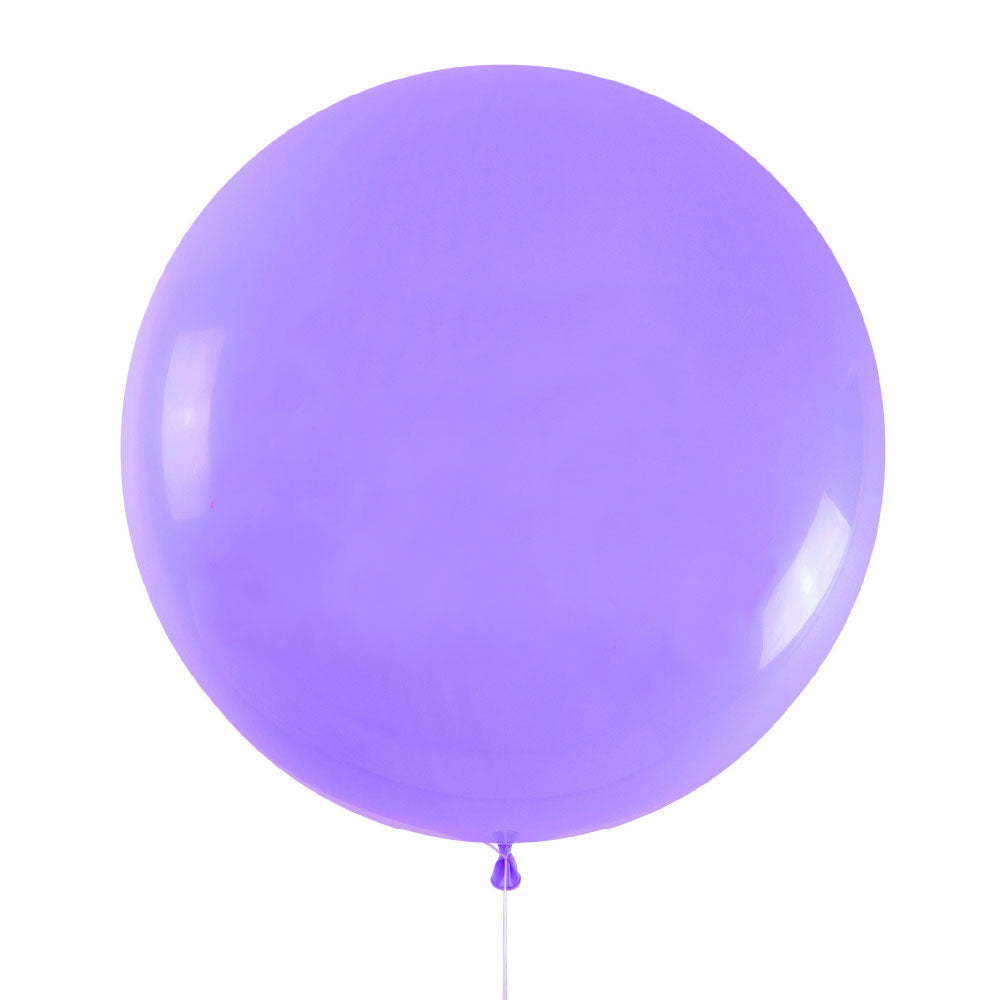 Lilac Jumbo Latex Balloon - 90cm - 3ft
